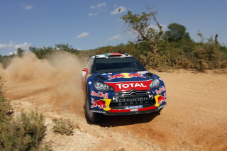 Sebastien Loeb - Citroen WRC Picture for Android, iPhone and iPad