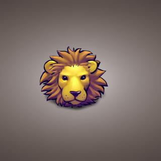 Lion Muzzle Illustration - Obrázkek zdarma pro 2048x2048