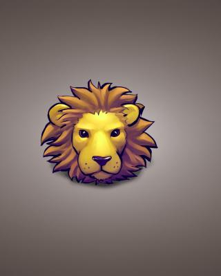 Lion Muzzle Illustration - Obrázkek zdarma pro Nokia Asha 308