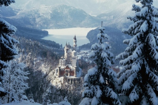 Free Neuschwanstein Castle in Bavaria Germany Picture for Android, iPhone and iPad