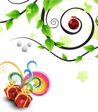 Joyful Merry Christmas - Obrázkek zdarma pro Nokia Asha 305