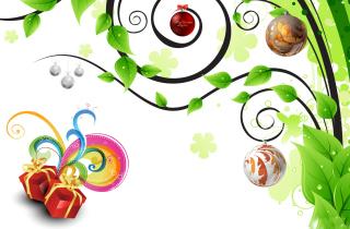 Joyful Merry Christmas - Obrázkek zdarma pro 480x360