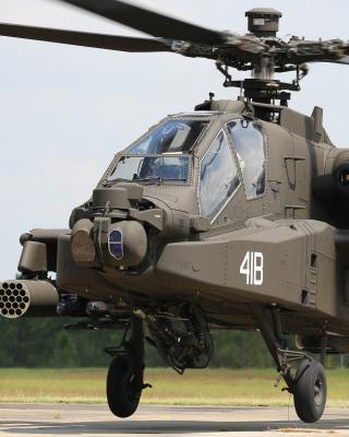 Boeing AH 64 Apache - Obrázkek zdarma pro 750x1334