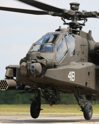 Boeing AH 64 Apache - Obrázkek zdarma pro iPhone 4S