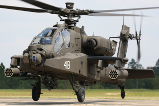 Boeing AH 64 Apache Picture for Android, iPhone and iPad