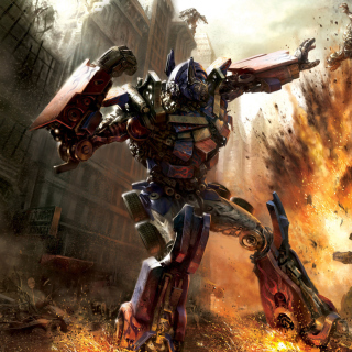 Transformer - Optimus Prime - Obrázkek zdarma pro 320x320