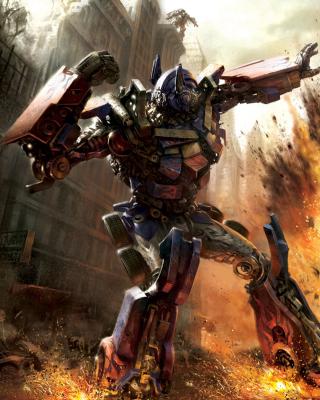 Transformer - Optimus Prime - Obrázkek zdarma pro Nokia C5-05
