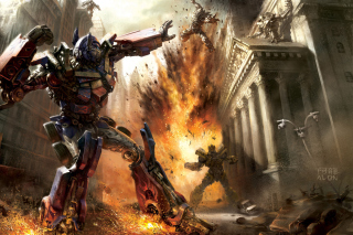 Transformer - Optimus Prime - Obrázkek zdarma pro 1680x1050