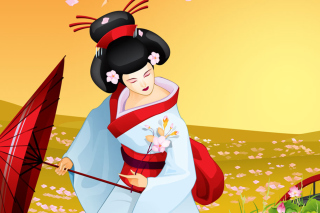 Geisha Picture for Android, iPhone and iPad