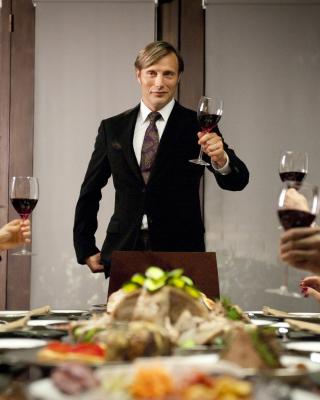 Hannibal Television Series - Obrázkek zdarma pro Nokia Asha 203