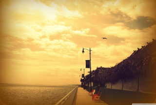 Embankment Background for Android, iPhone and iPad