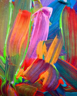 Acrylic Colors - Obrázkek zdarma pro Nokia 206 Asha