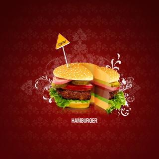 Hamburger - Obrázkek zdarma pro 128x128