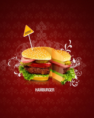 Hamburger - Obrázkek zdarma pro Nokia X3-02