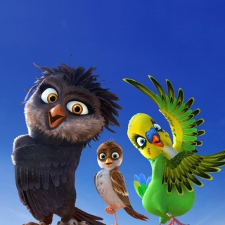 Angry Birds the Movie - Obrázkek zdarma pro iPad Air