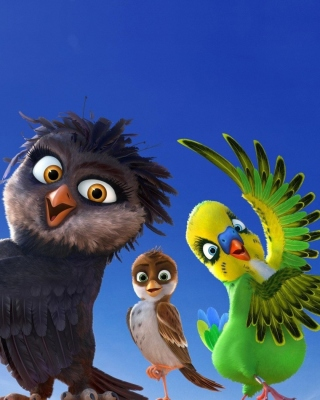 Angry Birds the Movie - Obrázkek zdarma pro iPhone 5S