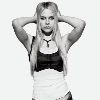 Avril Lavigne Smile - Obrázkek zdarma pro 1024x1024