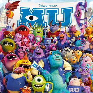 Monsters University Pixar - Obrázkek zdarma pro iPad 3