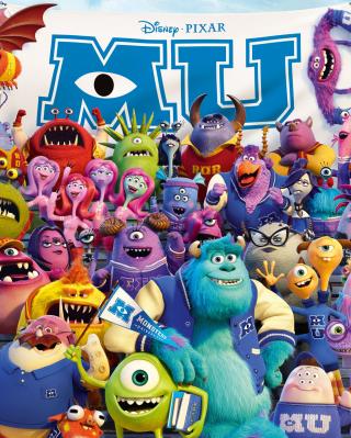 Monsters University Pixar - Obrázkek zdarma pro iPhone 5