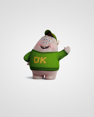Monsters University, Scott Squishy Squibbles - Fondos de pantalla gratis para Nokia C2-02