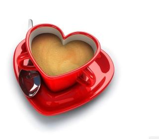 Cup Of Love - Obrázkek zdarma pro 320x320