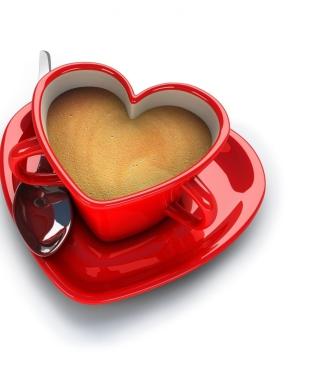 Cup Of Love - Obrázkek zdarma pro iPhone 4S