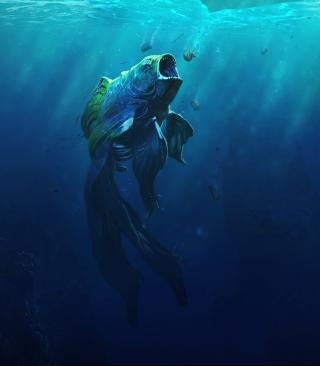 Piranha Goldfish - Obrázkek zdarma pro 480x800
