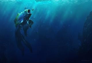 Piranha Goldfish - Obrázkek zdarma pro 1280x1024