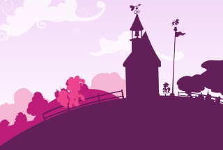 Pinkie Hill Background for Android, iPhone and iPad