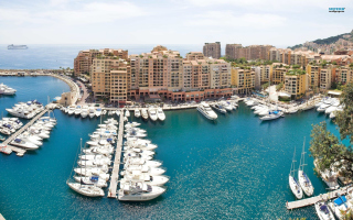 Posh Monaco Yachts Wallpaper for Android, iPhone and iPad