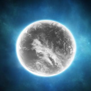 Gray Planet - Obrázkek zdarma pro iPad Air
