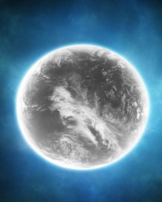 Gray Planet - Obrázkek zdarma pro 320x480