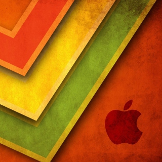 Apple Macintosh Logo - Obrázkek zdarma pro 208x208