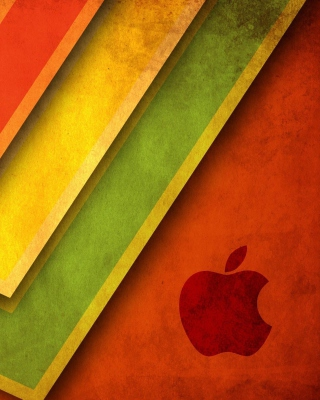 Apple Macintosh Logo - Obrázkek zdarma pro Nokia 300 Asha