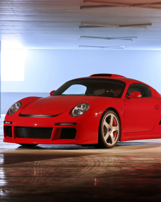 Porsche 911 Carrera Retro - Obrázkek zdarma pro Nokia C7