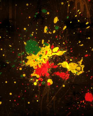 Rasta Splash - Obrázkek zdarma pro iPhone 5S