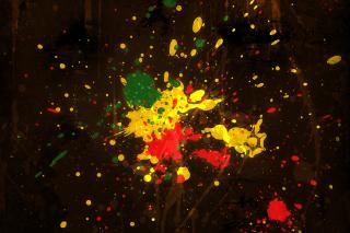 Rasta Splash - Obrázkek zdarma pro Nokia X5-01