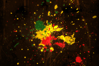 Rasta Splash - Obrázkek zdarma pro 1280x720