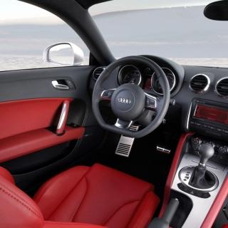 Audi TT 3 2 Quattro Interior - Obrázkek zdarma pro 320x320