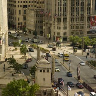 Chicago Street - Obrázkek zdarma pro iPad mini 2