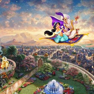 Aladdin - Obrázkek zdarma pro iPad
