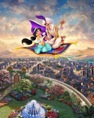 Aladdin - Obrázkek zdarma pro Nokia C5-06