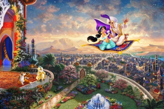 Aladdin - Obrázkek zdarma pro 1366x768