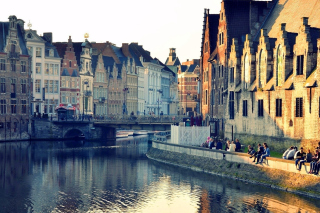 Free Ghent, Belgium Picture for Android, iPhone and iPad