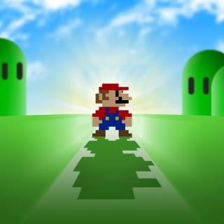 Super Mario Video Game - Obrázkek zdarma pro iPad Air