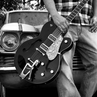 Guitar Bigsby - Obrázkek zdarma pro 1024x1024