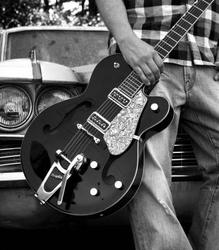 Guitar Bigsby - Obrázkek zdarma pro Nokia Asha 310
