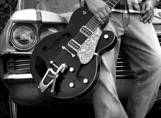 Guitar Bigsby - Obrázkek zdarma pro HTC One X