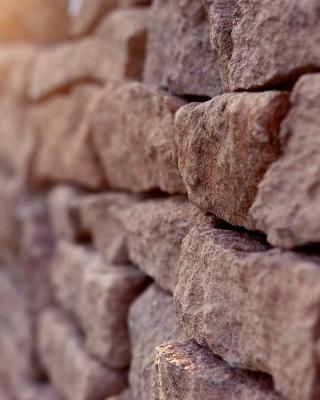 Macro Brick Wall Closeup - Obrázkek zdarma pro Nokia Asha 309