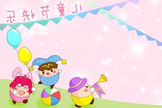 Happy Childrens Day - Obrázkek zdarma pro Android 1080x960